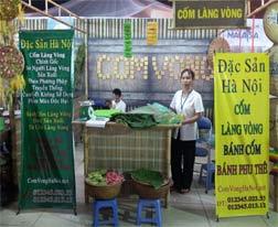 Cốm làng Vòng tại Liên Hoan Làng Nghề Truyền Thống Hà Nội